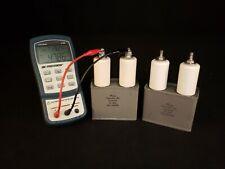 005uf Mfd 125kvdc High Voltage Oil Filled Energy Storage Capacitor Tested