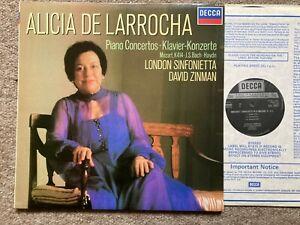 SXL 6952 ..ALICIA DE LARROCHA.. MOZART PIANO CONCERTO NO. 12  NM