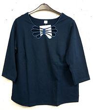 Markenlose Damenshirts aus Baumwollmischung für die Freizeit
