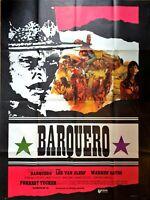 Cartel Cine Western Barquero Lee Van Cleef - 120 X 160CM
