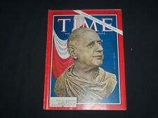 1966 TIME MAGAZINE - CHARLES DEGAULLE - T 2003