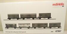 Märklin H0 47367 DB-Güterwagen-Set mit 7 Wagen, pass. zu V 188   L24