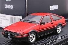 Ebbro 43819 1:43 Toyota Sprinter Trueno AE86 1983 Die Cast Model Sport Cars Red