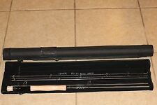 Hmr 9' 8/9 Wt 4 Piece Travel Fly Fishing Rod With Case + Spare Tip Brand New