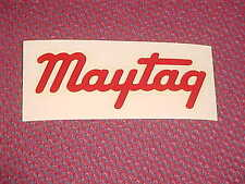 Maytag Decal Gas Engine Wringer Washer Machine   Racer
