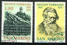 SAN MARINO - 1974 - Centenario della morte di Niccolò Tommaseo