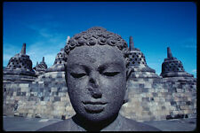 217084 borobodur Buddha II A4 FOTO STAMPA