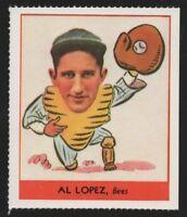 1977 DOVER REPRINT – 1938 GOUDEY HEADS-UP #257 AL LOPEZ – NM-MT (8)+