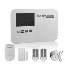 Wireless WIFI Home Intelligent GSM Burglar Alarm Anti-Theft Security APP Control