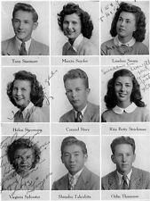 1946 San Diego High School Yearbook~Photos~Baseball~New York Yankees Don Larsen
