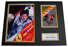 Jody Scheckter SIGNED autograph 16x12 photo display Formula 1 Sport AFTAL COA