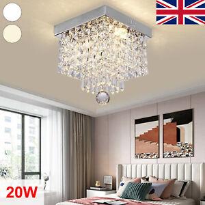 Pendant Lights Ceiling Lights Fitting Chandelier Bedroom LED Crystal Modern 20W