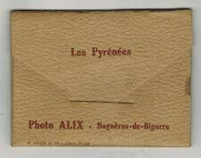 Carnet de 10 Photos Veritables - Les Pyrennees - Photo Alix