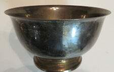Vintage Gorham Sterling Silver Revere Reproduction Pedestal Bowl 41659 521 GRAMS