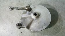 Kawasaki EN 500 A Vulcan - Rear Back Brake Drum Hub Plate & Arm - 1990 - 1995