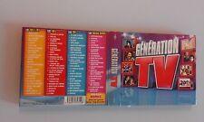 COMPILATION - GENERATION TV - 4 CD 80 TRACKS