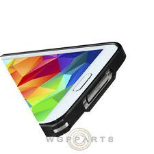 Samsung Galaxy S5 Protective Bumper Chrome Metal Black Case Cover Shell