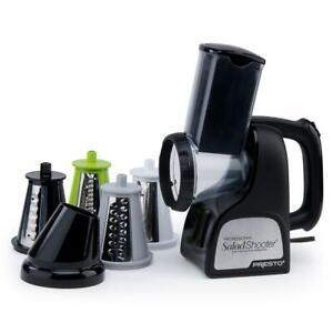 Presto Electric Food Slicer/ Shredder Dishwasher Safe Parts Detachable Base