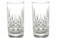 Waterford Crystal Lismore 12 oz. Highball Tumbler Glasses
