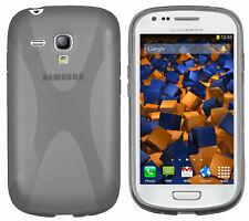 mumbi Hülle für Samsung Galaxy S3 Mini Schutzhülle X-TPU transparent schwarz