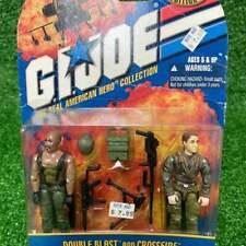 GI JOE Collector's Special Edition DOUBLE BLAST and CROSSFIRE Hasbro G.I. figure