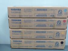 New Genuine TOSHIBA T-FC50U CMYK Full Color Toner Set