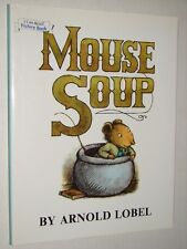 Children's I Can Read Picture Book MOUSE SOUP Arnold Lobel HCDJ