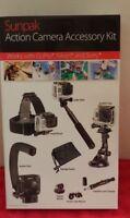 Sunpak Action Camera GoPro Accessory Kit For GoPro, Sony