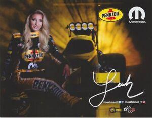 2018 Leah Pritchett Pennzoil Top Fuel NHRA postcard