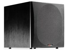 Powered Subwoofer 12-Inch Improve Bass Response Polk Audio PSW505 Single Black