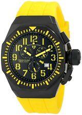 Swiss Legend 10540-01-BB-YA Mens Trimix Diver Chronograph Watch Black NEW in Box