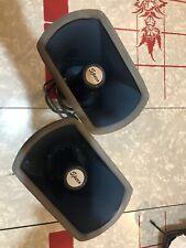 Pair of two Vtg Speco Marine Horn Weatherproof Speakers 5 x 8 15W 8 ohm SPC-15R