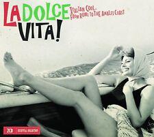 La Dolce Vita: Italian Cool Rome To The Amalfi Coast 2 Cd Set Dean Martin +more