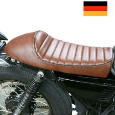 Universal Vintage Hump Motorrad Cafe Racer Sitz Sattel Höckersitzbank DE