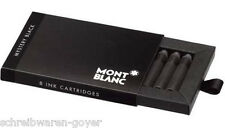 Tintenpatronen Montblanc schwarz mysteryblack 105191 8St. im Etui Tintenpatrone