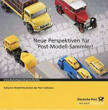 Deutsche Post prospectus Modèle Voitures perspectives modèle de collection detaillant automobile