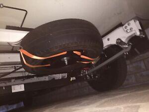 Kit Porta Ruota Di Scorta Camper Fiat Ducato X250 e x290 Dal 2007 Al 2021