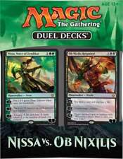 Magic the Gathering (MTG) - Nissa vs Ob Nixillis Factory Sealed Duel Deck