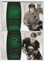 10-11 Dominion Dale Hawerchuk /5 EMERALD Green Sabres 2010
