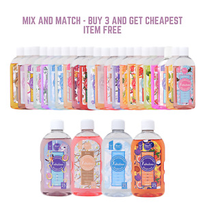 Fabulosa Multi-Purpose 4-in-1 Concentrated Disinfectant Choice of Sizes & Scents