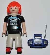 Series 1-M7 Mujer con radio playmobil,serie,5203