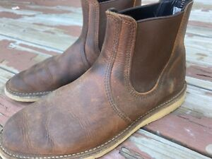 Red Wing boots Chelsea used Men's size 9.5