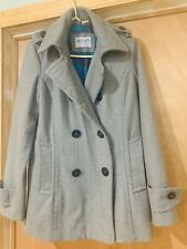 Delias Double Breasted Pea Coat Size Large