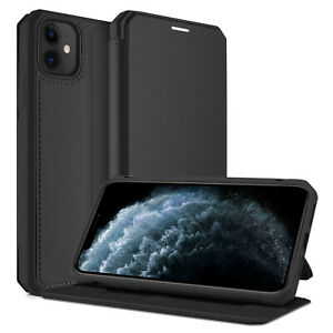 For Apple iPhone 12 Pro Max 12Mini Case Cover Fashion Leather Stand Card Soft PU