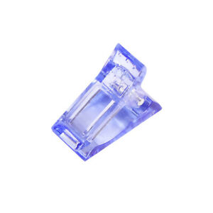 1Pcs Nail Tips Clip Clamps for Poly Gel Builder Tool Building Extension Quick