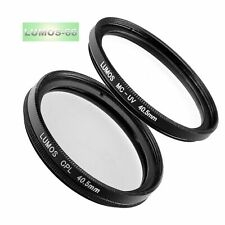 40,5-mm MC UV & Polfilter Filterset passt zu Sony Alpha 6000 NEX 16-50 sel-p1650