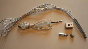 3D Printer MK10 All Metal Hotend Kit incl. block, 24V heater, thermistor, nozzle