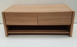 Modern IKEA Style TV stand with Double Drawer