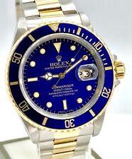Rolex Submariner Date Ref. 16613 Stahl/Gold Blaues Zifferblatt/Lünette L-Serie
