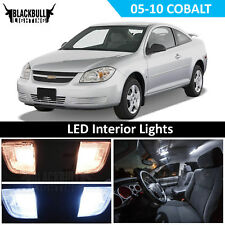 White LED Interior Light Accessory Kit MAP DOME for 2005-2010 Chevy Cobalt 7 PCS